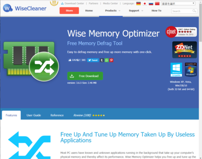 20190319 Wise Memory Optimizer365.png